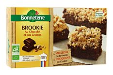 Brookie chocolat et graines 285g Bio