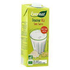 Boisson douceur riz sans sucres 1L Bio