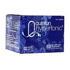 Quinton Hypertonic buvable - 30 ampoules