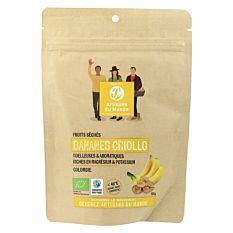 Bananes séchées rondelles 100g Bio