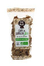 Chips de Sarrasin au sel de Guérande 100g Bio