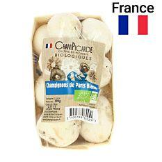 Champignons de Paris blancs barquette 200G Bio
