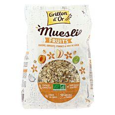 Muesli aux Fruits 1kg Bio