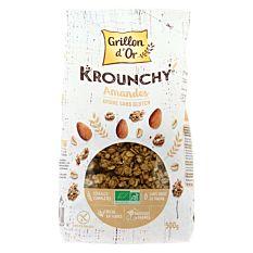 Krounchy Amande & Avoine sans gluten 500g Bio