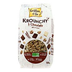 Krounchy Chocolat 500G Bio