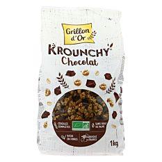 Krounchy au Chocolat noir 1Kg Bio