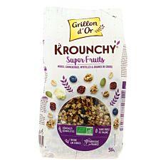 Krounchy Superfruits 500g Bio