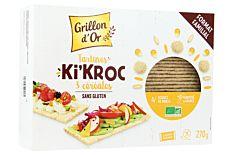 Tartines Ki'Kroc 3 Céréales 270g Bio