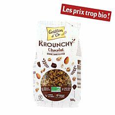 Krounchy Chocolat & Avoine 500g Bio