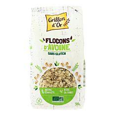 Flocons d'Avoine sans gluten 500g Bio