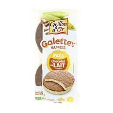 Galettes de Maïs nappées Chocolat au lait 95g Bio
