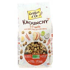 Krounchy aux 5 fruits 500g Bio