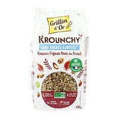 Krounchy raisins figues noix 450g Bio