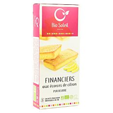 Financiers Citron 125G Bio