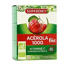 Acérola 1000 - 24 comprimés Bio