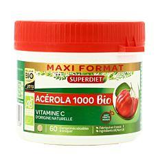Acérola 1000 maxi format - 60 comprimés Bio