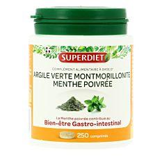 Argile verte Montmorillonite 500mg - 250 comprimés