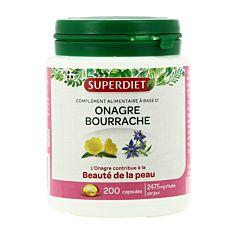 Onagre & Bourrache Beauté de la Peau - 200 capsules Bio