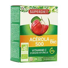 Acérola 500 - 24 comprimés sécables Bio