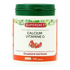 Calcium Vitamine D - 150 Gélules