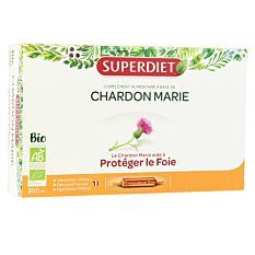 Chardon Marie - 20 ampoules x15ml Bio