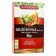 Gelée Royale Miel Pollen 20x15ml Bio