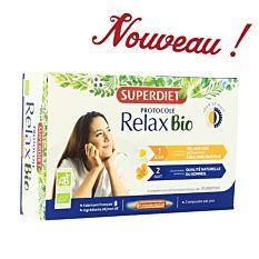 Protocole relax jour & nuit - 20 ampoules x 15Ml Bio