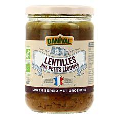 Lentilles aux petits légumes 525g Bio