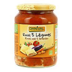 Ravioli 5 légumes 670g Bio