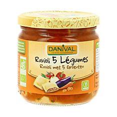 Raviolis Legumes 360G Bio