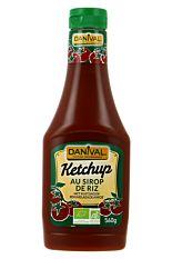 Ketchup Sirop Riz 560G Bio