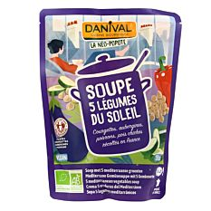 Soupe 5 Legumes Soleil 50Cl Bio