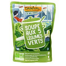 Soupe 5 Legumes Verts 50Cl Bio