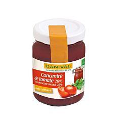 Concentré de tomate 28% 3x100g Bio