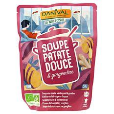Soupe à la patate douce & gingembre 50Cl Bio