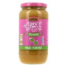 Compote de Pomme Maxi Format 1.050kg Bio