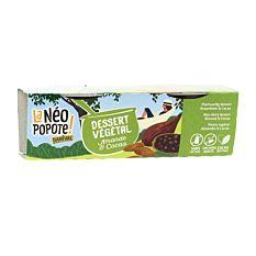 Dessert Végétal Amande & Cacao 2x100g Bio