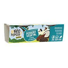 Dessert Végétal Coco & Cacao 2x100g Bio