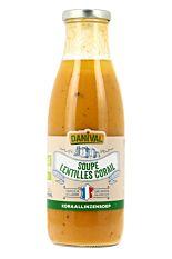 Soupe aux Lentilles Corail 72cl Bio
