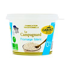 Fromage Blanc Le Campagnard 0% 500g Bio