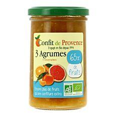 Spécialité de fruits 3 agrumes 300g Bio