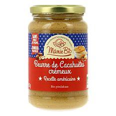 Beurre De Cacahuètes Crémeux 350g Bio