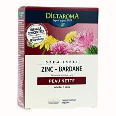 Dermideal Zinc Bardane 30Comp