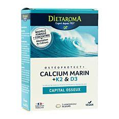 Ostéoprotect+ calcium marin 60 comprimés