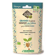 Graines à germer mix 4 radis 100G Bio