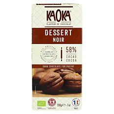 Tab Dessert 55% Cacao 200G Bio