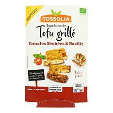 Suprêmes de tofu grillé 140g Bio