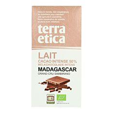 Chocolat au Lait Madagascar 50% 100g Bio
