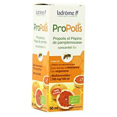 Concentré de Propolis - Pépins de Pamplemousse 50ml Bio
