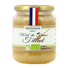 Miel Tilleul France 500G Bio